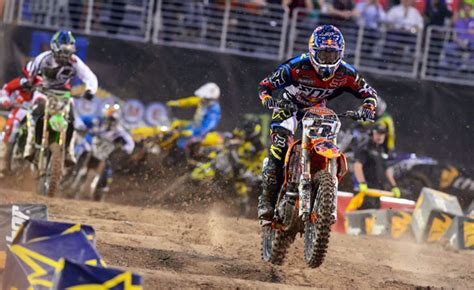 2014 ama motocross results 2014 ama supercross las vegas results motorcycle com news