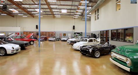 Two Car Garages by Video Tim Allen S Awesome Car Collection Rod Authority