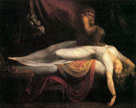 10 best scary paintings henry fuseli the nightmare