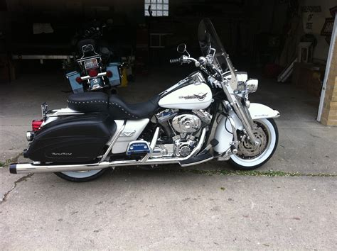 Harley Davidson Near My Location by 2005 Harley Davidson 174 Flhr I Road King 174 Glacier White