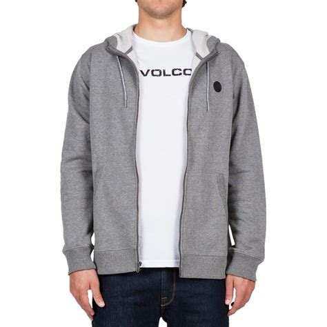 Jaket Sweater Volcom Sweater Zipper Volcom volcom single zip hoodie s ebay