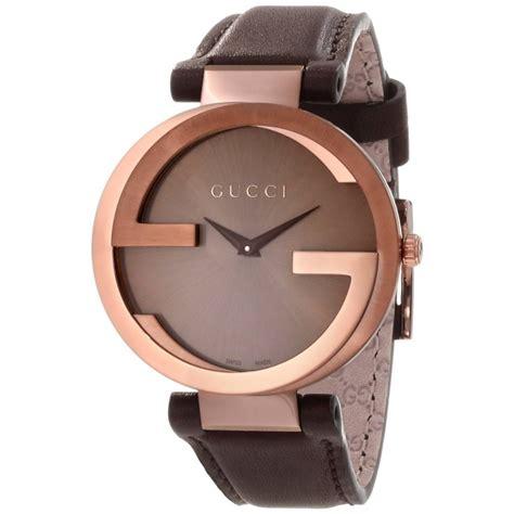 buy women s gucci interlocking iconic bezel swiss brown