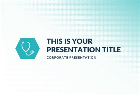 free ppt templates for hospital management the medical free powerpoint template keynote theme