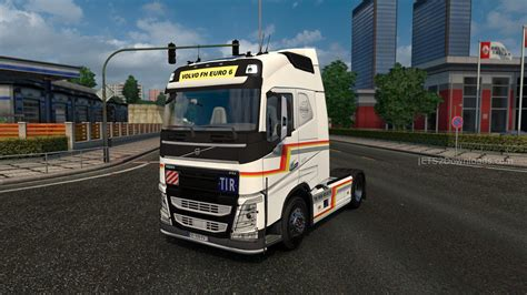 new volvo lorry new volvo fh v2 4 euro truck simulator 2 mods
