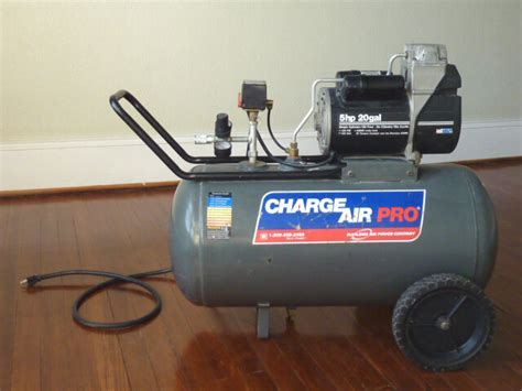 devilbiss 5hp 20 gallon free portable charge air pro compressor 125 psi on popscreen