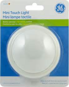 Battery Operated Led Light Ge Mini Tap Light Round Battery Operated 1 Pk Walmart Ca