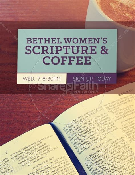 women s bible study church flyer template flyer templates