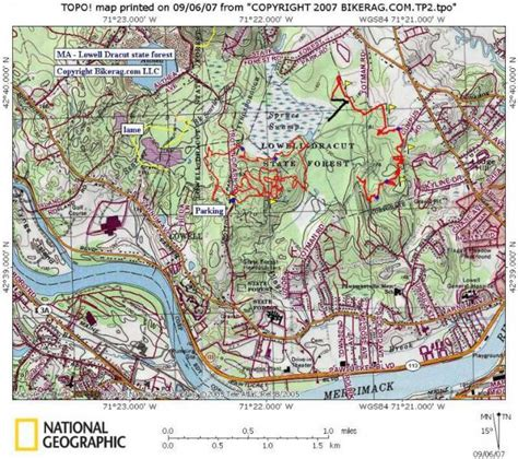 map lowell ma lowell dracut tyngsborough state forest photo