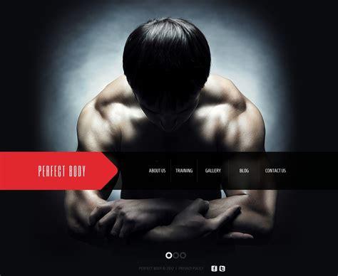 bodybuilding joomla template 39167