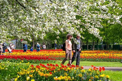 Britzer Garten Tulpen 2018 by Evenementen In Berlijn