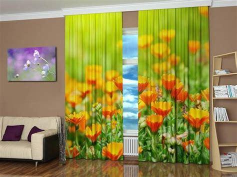 window curtains  colorful art prints  beautiful
