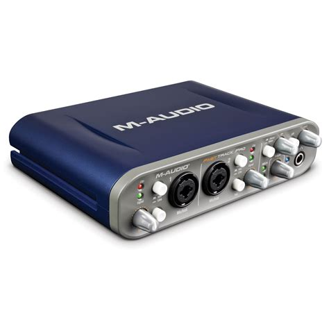 Usb Midi m audio fast track pro 4x4 mobile usb audio midi interface
