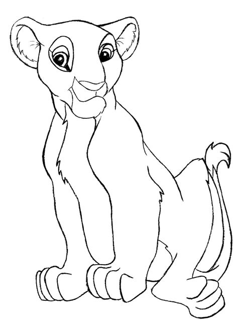 nala free coloring pages
