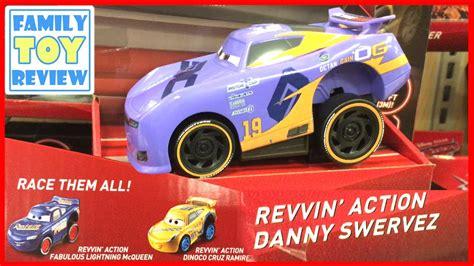 Cars 3 Revvin Jackson new cars 3 toys hunt revvin danny swervez fabulous lightning mcqueen dinoco