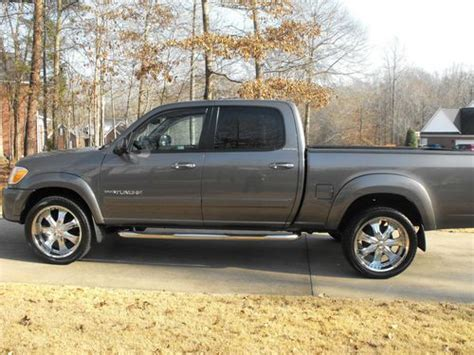 Toyota Tundra Aftermarket Rims Buy Used 2005 Toyota Tundra Limited 4wd Cab And