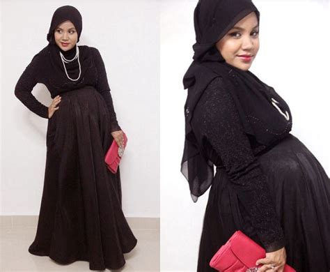Gamis Muslimah Arimbi Dress By Aqeela 10 Trend Model Baju Muslim Terbaru