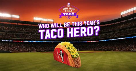 Taco Bell World Series Giveaway - free taco bell doritos locos tacos if someone steals a base in the world series
