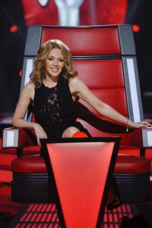 Minogue Says That She Likes Big Black Snarky Gossip 2 by The Voice Talent To For In New Season