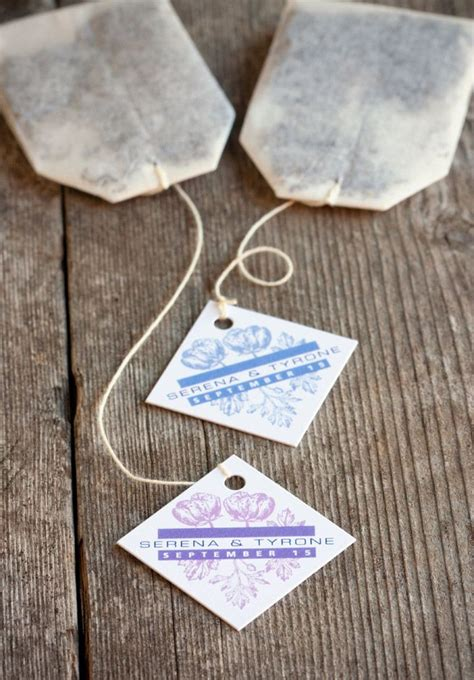 more 1 wedding favor ideas bags favors and tea