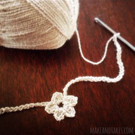 crochet pattern for heart necklace crochet a day heart and flower crochet necklaces make
