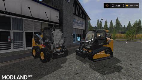 jcb skidsteer   pack   mod farming simulator
