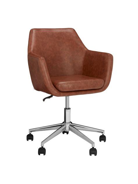 john lewis partners reid faux leather office chair  john lewis partners