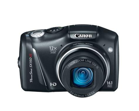 canon powershot canon powershot sx150 is black
