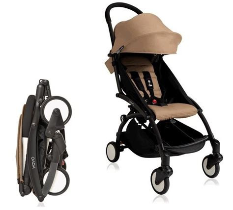 Babyzen Yoyo 6 Taupe Color 2018 babyzen yoyo plus stroller with 6 color pack black frame taupe
