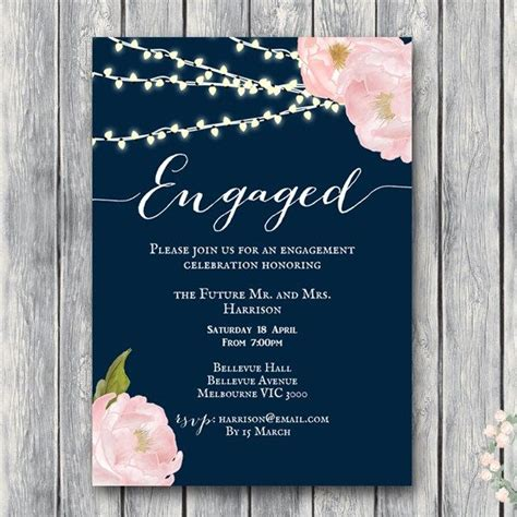 Engagement Invitation by Best 25 Engagement Invitation Cards Ideas On