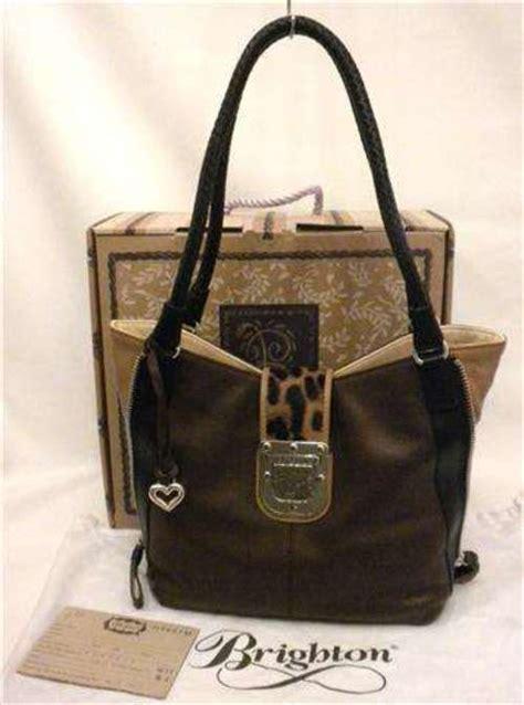 Natasia Ali Bronze Metallic Tote Bag by Brighton Ali Side Zip Tote Brown Leather Leopard