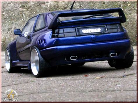 volkswagen corrado tuning volkswagen corrado vr6 miniature kit carrosserie rieger