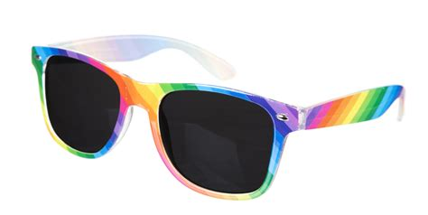 Jump On The Winter Sunglasses Bandwagon With My Top Five by Multi Colour Rainbow Way Farer Sunglasses