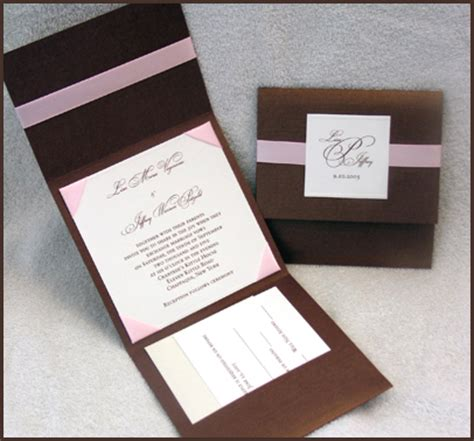 Simple Handmade Wedding Invitations - easy wedding invitations