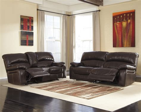 Brown Living Room Sets Buy Furniture Damacio Brown Powered Reclining Living Room Set Bringithomefurniture