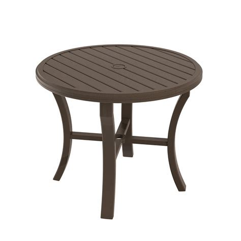 Dining Table 36 Tropitone Banchetto 36 Quot Dining Table Leisure Living