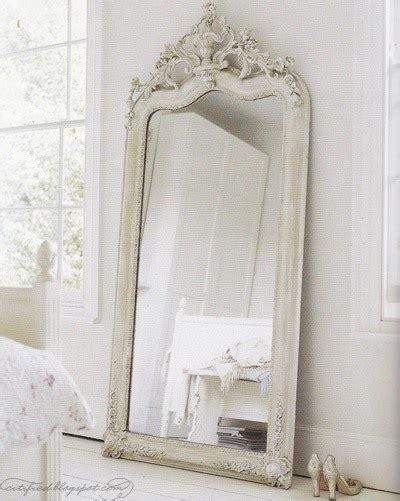 Spacious large white shabby chic mirror 384113 home design ideas