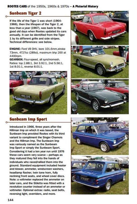 rootes cars of the rootes cars of the 1950s 1960s 1970s hillman humber
