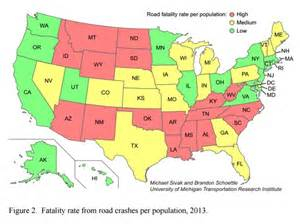 most dangerous states to drive in business insider