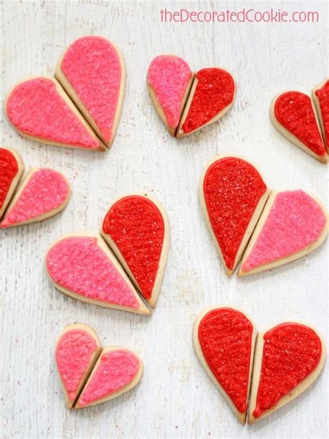 valentines decorated cookies quot you complete me quot cookies for s day