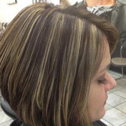 mahogany haircolr with blond highlights stcked bob haircuts inverted bob blonde highlights search results