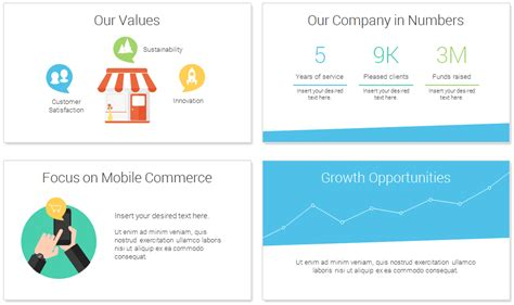 E Commerce Powerpoint Template Presentationdeck Com E Commerce Powerpoint Template