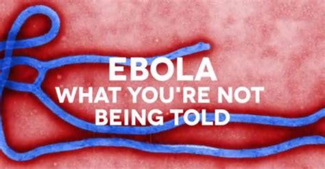 ebola      told