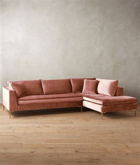 Velvet Sectional Sofa 20 Modular Sofa Designs With Modern Flair