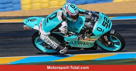 Motorrad Gp Reglement by Die Moto3 Honda Von Leopard Racing Moto3 In Le Mans 14