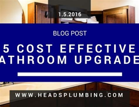 cost to upgrade bathroom upgrade bathroom cost 28 images 5 best budget bathroom upgrades tallahassee
