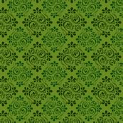 green jacquard wallpaper green jacquard wallpaper puggy bubbles spoonflower