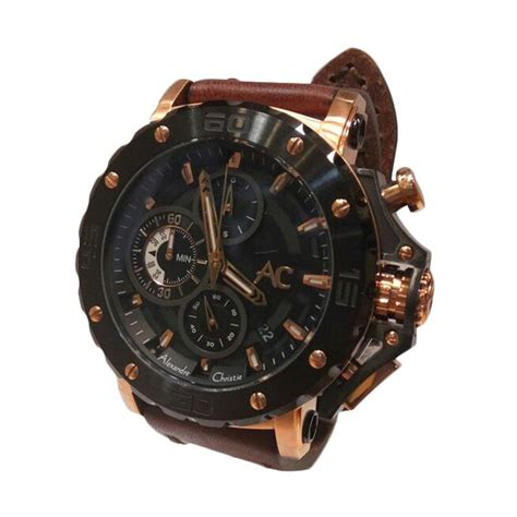 Alexandre Christie Ac 6432 Mc Black Gold harga alexandre christie ac 6432 mc black gold pricenia