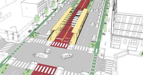 median stop  side boarding national association  city transportation officials