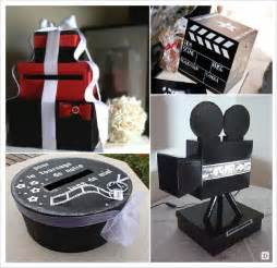 deco mariage theme cinema idees