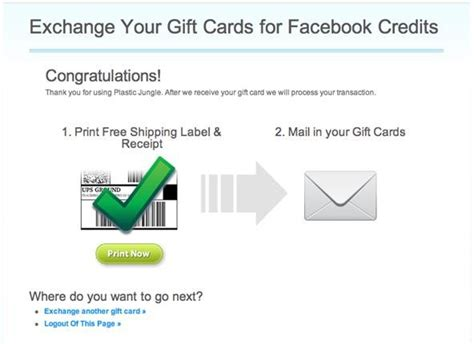 How To Send Gift Cards On Facebook - how to exchange gift cards for facebook credits 171 internet